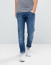 Wrangler Slim Fit Jeans In High Is High Blue afbeelding