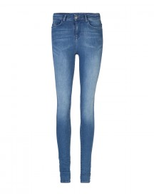 Dames High Rise Skinny Super Stretch Jeans afbeelding