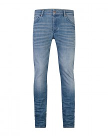 Heren Slim Tapered Stretch Jeans afbeelding