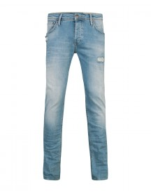 Heren Slim Tapered Super Stretch Jeans afbeelding