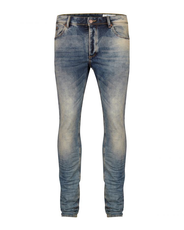Image Heren Skinny Tapered Jog Denim