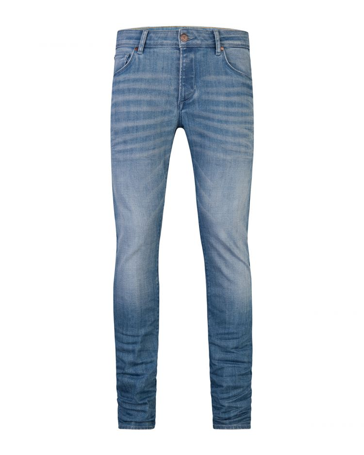 Image Heren Slim Tapered Stretch Jeans