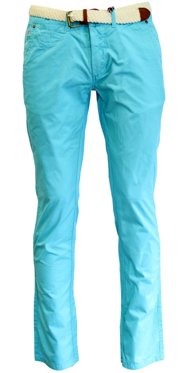 Image Geographical Norway Proudster Broek Turquoise