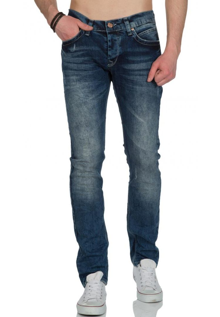 Image Race Denim Kolo Spijkerbroek Light Blue