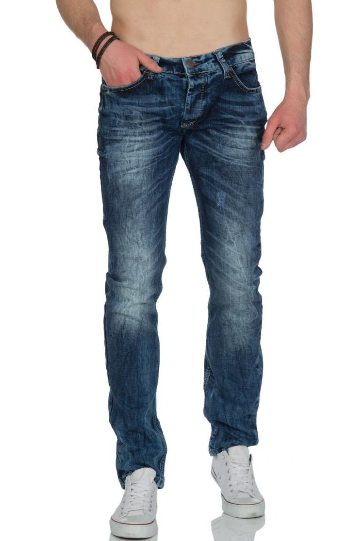 Image Race Denim Tidone Spijkerbroek Dark Blue