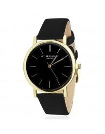 Limited Watch Black - Black / Gold afbeelding