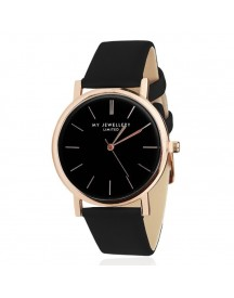 Limited Watch Black - Black / Rose afbeelding