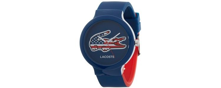 Image Lacoste Horlogeband Lc-46-4-47-2502 /2020073 /20mm Rubber Multicolor 14mm