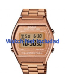 Casio Horlogeband B640wc-5aef / B640wc-5a Staal Goud (rosé) 18mm afbeelding