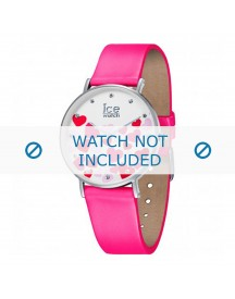 Ice Watch Horlogeband 013374 Leder Roze 18mm afbeelding