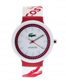 Lacoste Horlogeband 2010523 / Lc-46-1-29-2225 Rubber Multicolor 14mm afbeelding