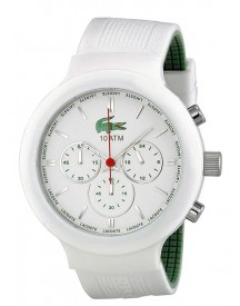 Lacoste Horlogeband 2010653 / Lc-61-1-29-2348 Rubber Multicolor 16mm afbeelding