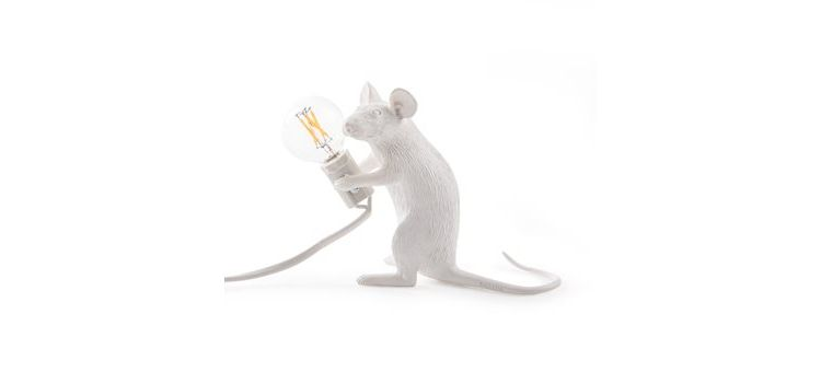 Image Seletti Mouse Lampresin Sitting