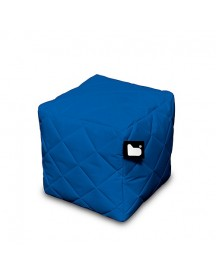 Extreme Lounging B-box Quilted Poef - Blauw afbeelding
