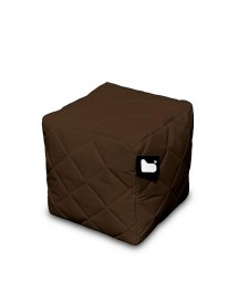 Extreme Lounging B-box Quilted Poef - Bruin afbeelding