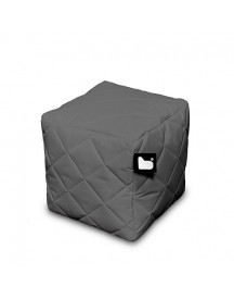 Extreme Lounging B-box Quilted Poef - Grijs afbeelding