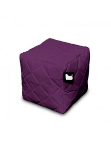 Extreme Lounging B-box Quilted Poef - Paars afbeelding