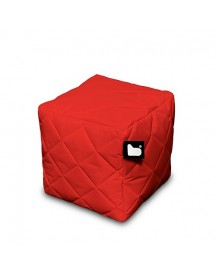 Extreme Lounging B-box Quilted Poef - Rood afbeelding