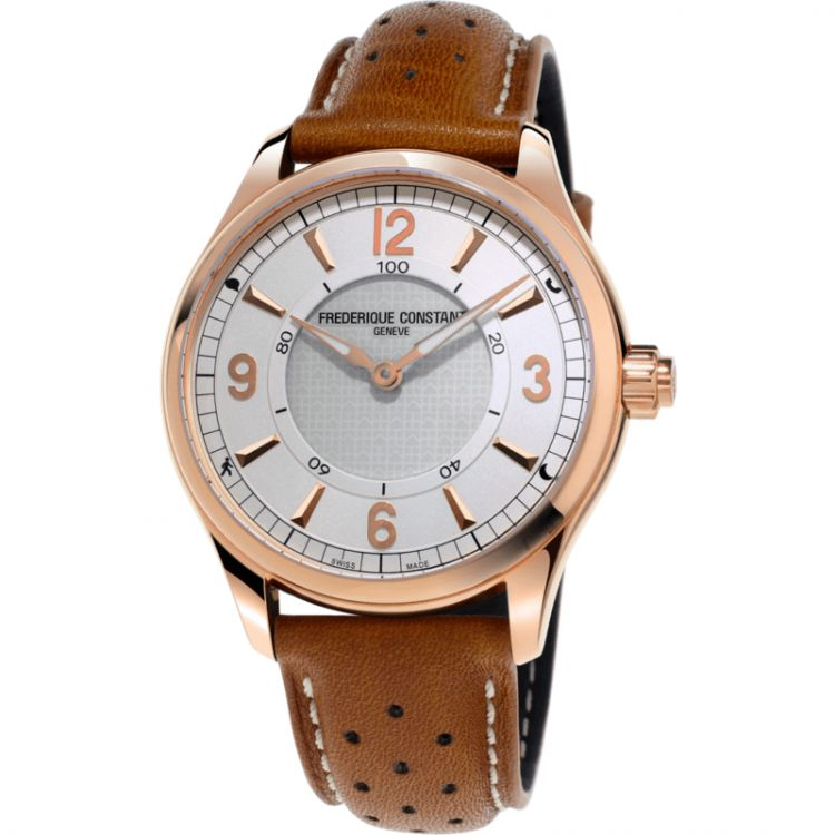Image Frederique Constant Horological Wit/bruin