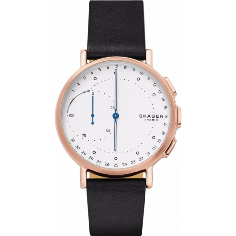 Image Skagen Connected Hybrid Wit/zwart