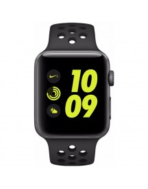 Apple Watch Nike+ 42mm Spacegrijs Aluminium/antraciet Sportband afbeelding