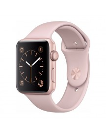 Apple Watch Series 2 42mm Rose Alumium/rozenkwarts Sportband afbeelding