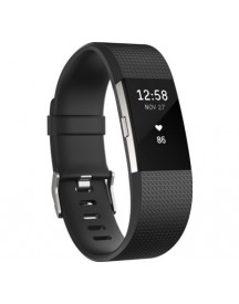 Fitbit Charge 2 Black/silver - S afbeelding