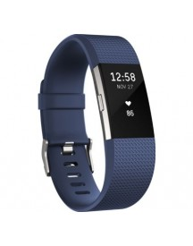 Fitbit Charge 2 Blue/silver - S afbeelding
