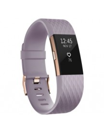 Fitbit Charge 2 Lavender/rose Gold - L - Special Edition afbeelding