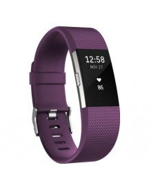Fitbit Charge 2 Plum/silver - S afbeelding