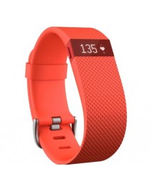 Fitbit Charge Hr Tangerine - S afbeelding