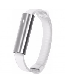 Misfit Ray Polished Stainless Steel/wit Sport Band afbeelding