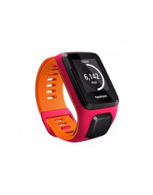 Tomtom Runner 3 Cardio Dark Pink/orange - S afbeelding