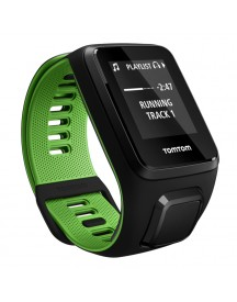 Tomtom Runner 3 Cardio + Music Black/green - L afbeelding
