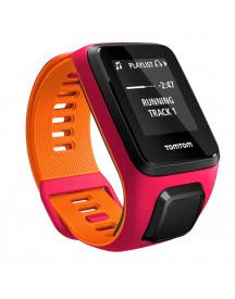 Tomtom Runner 3 Cardio + Music dark Pink/orange -s afbeelding