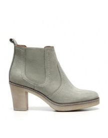 Manfield - Taupe Chelsea Boots afbeelding