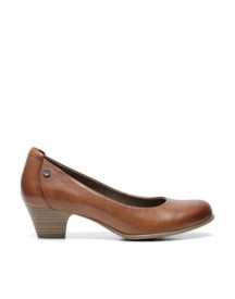 No Stress - Cognac Pumps afbeelding
