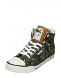 British Knights Dames Sneakers Met Legerprint afbeelding