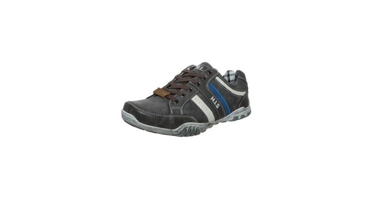 Image H.i.s. Sportieve Veterschoenen Charcoal/off White