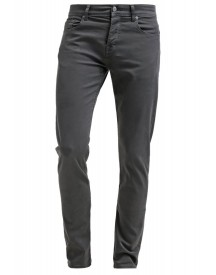 7 For All Mankind Chad Straight Leg Jeans Dark Grey afbeelding