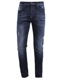 7 For All Mankind Chad Straight Leg Jeans Indigo afbeelding