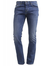 7 For All Mankind Chad Straight Leg Jeans Lightblue Denim afbeelding