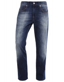 7 For All Mankind Foolproof Straight Leg Jeans Avemidblu afbeelding
