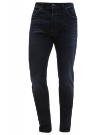 7 For All Mankind Larry Boyfriend Jeans Darkblue Denim afbeelding