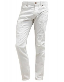 7 For All Mankind Larry Slim Fit Jeans White Denim afbeelding