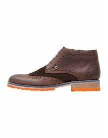 A Fish Named Fred Sportieve Veterschoenen Dark Brown afbeelding