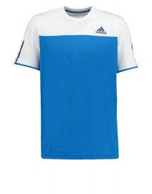 Adidas Performance Club Sportshirt Shock Blue/white afbeelding