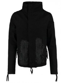 Army Of Me Zip Up Spijkerjas Black Coated&painted afbeelding