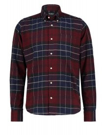 Barbour Lustleigh Tailored Fit Casual Overhemd Merlot afbeelding