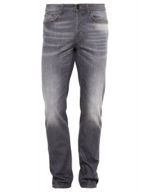Benetton Straight Leg Jeans Grey Denim afbeelding